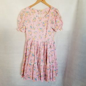 1950s Unlabeled Novelty Floral Western Style Squaw